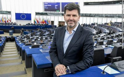 El eurodiputado socialista Nicolás G. Casares, elegido para formar parte de la Comisión Especial de Cáncer del Parlamento Europeo