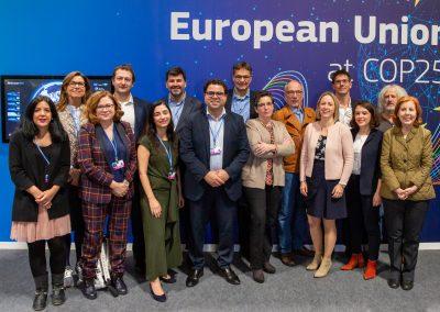 Delegación EP en la COP25